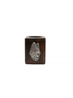 Briard - candlestick (wood) - 3956