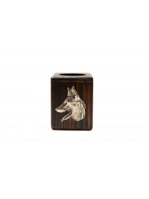 Malinois - candlestick (wood) - 3970