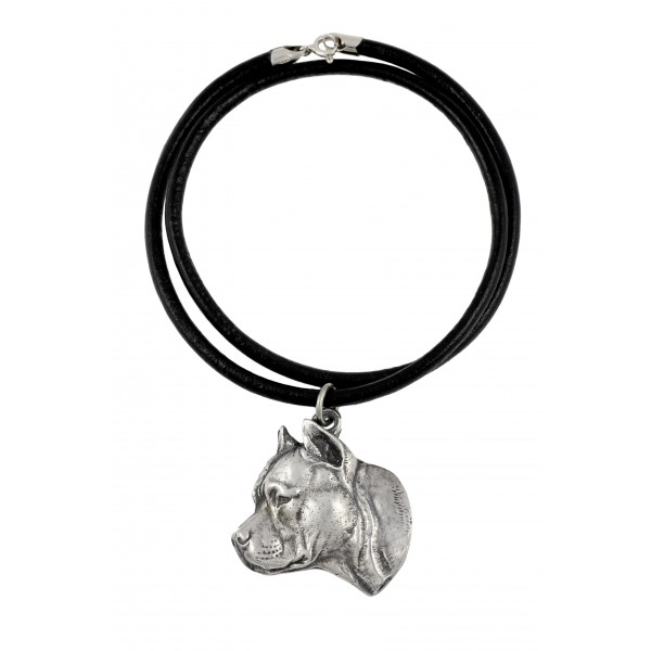 American Staffordshire Terrier - necklace (strap) - 350