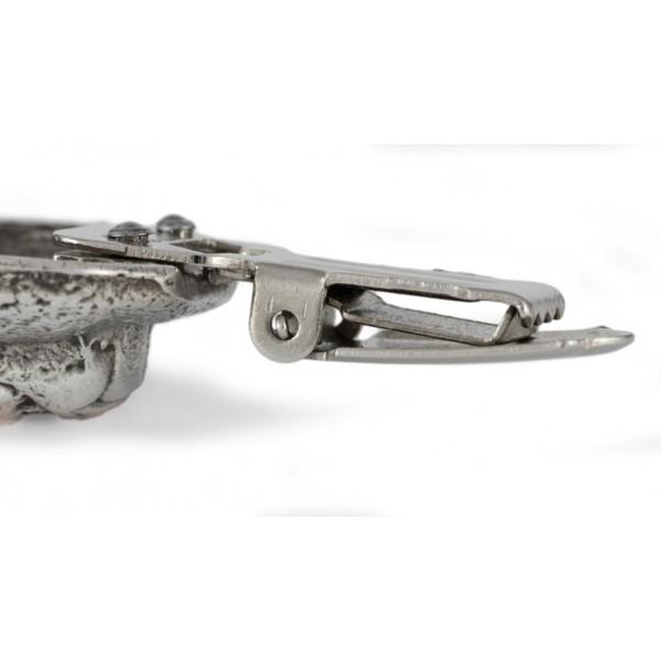 Akita Inu - clip (silver plate) - 258 - 26275