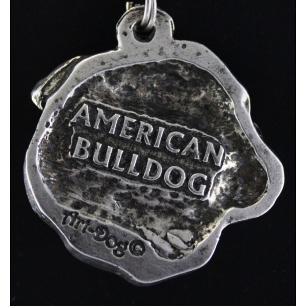 American Bulldog - necklace (strap) - 439 - 1543