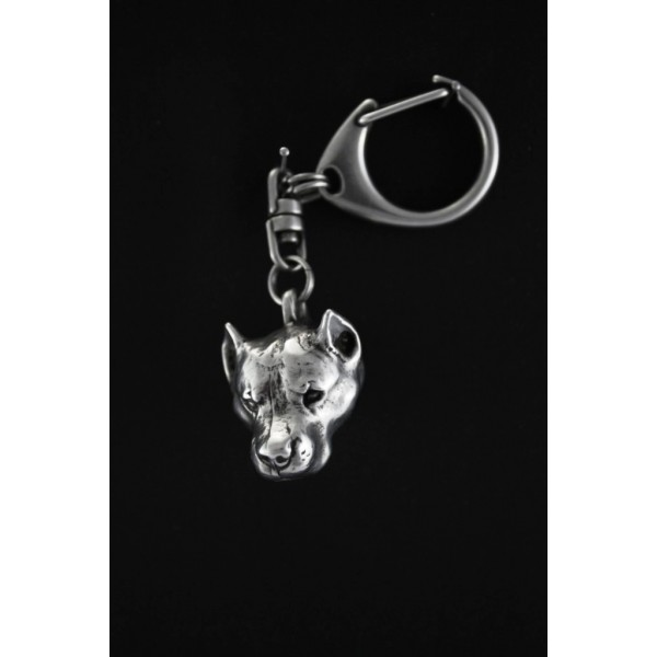 American Staffordshire Terrier - keyring (silver plate) - 27 - 180