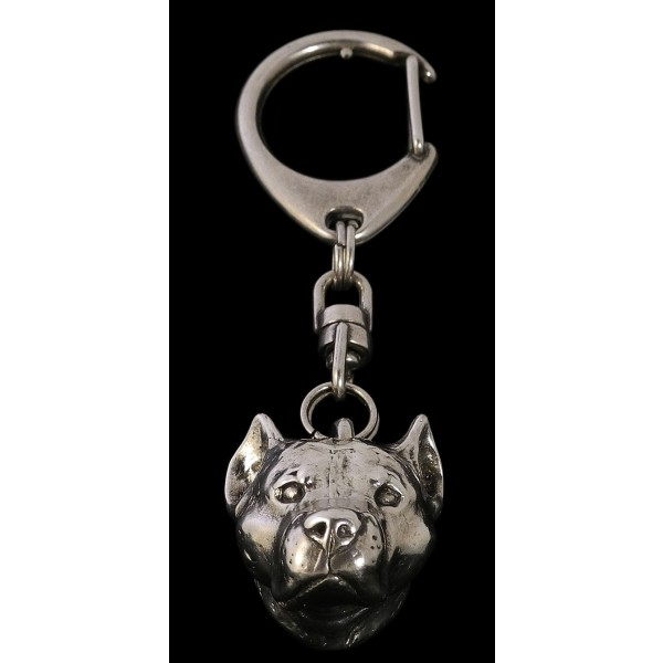 American Staffordshire Terrier - keyring (silver plate) - 27 - 182