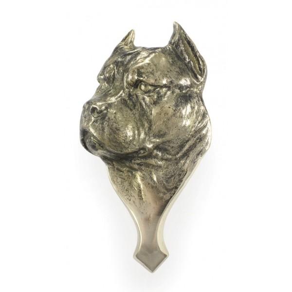 American Staffordshire Terrier - knocker (brass) - 312 - 7214