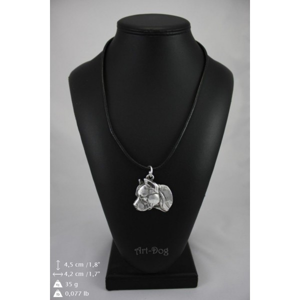 American Staffordshire Terrier - necklace (strap) - 350 - 9007