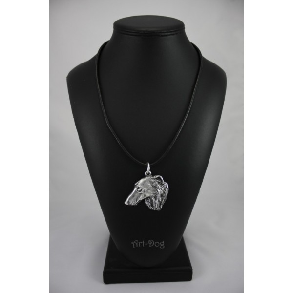 Barzoï Russian Wolfhound - necklace (strap) - 240 - 919