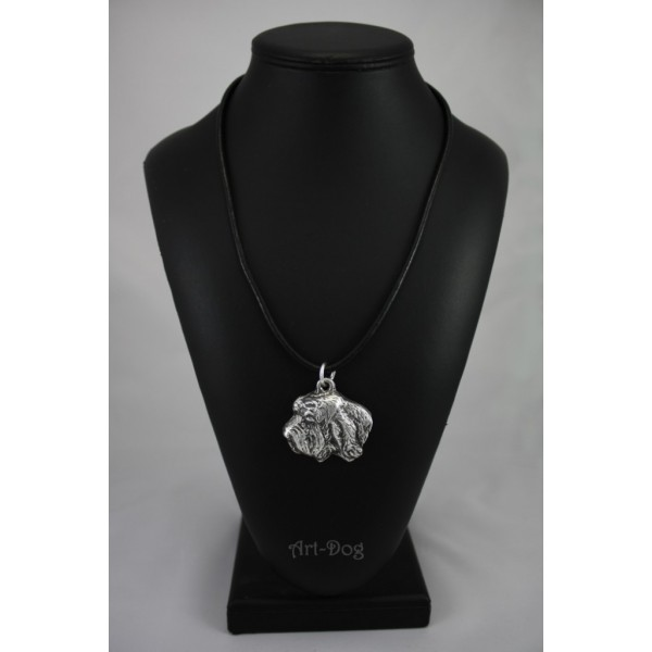 Basset Hound - necklace (strap) - 389 - 1400