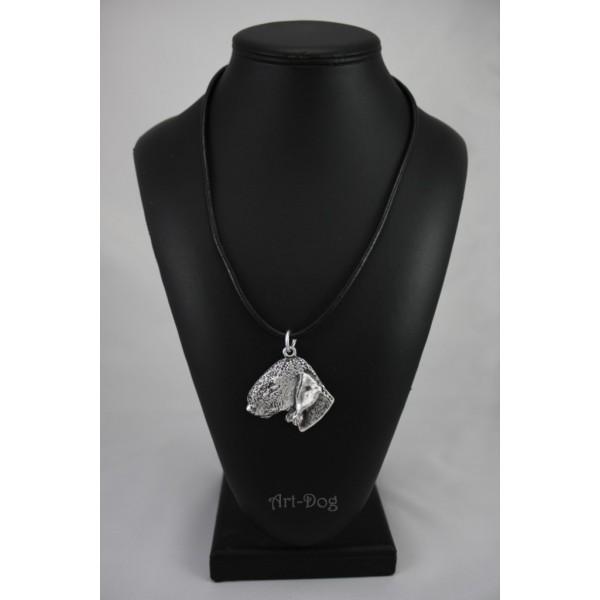 Bedlington Terrier - necklace (strap) - 391 - 1407