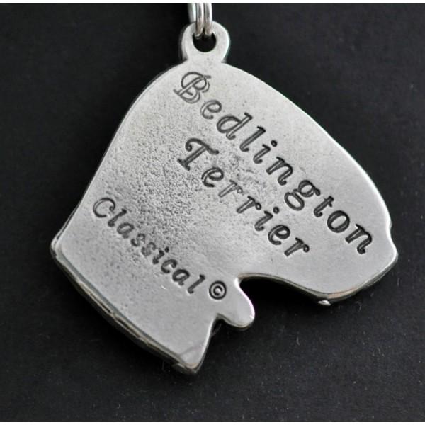 Bedlington Terrier - necklace (strap) - 391 - 1409