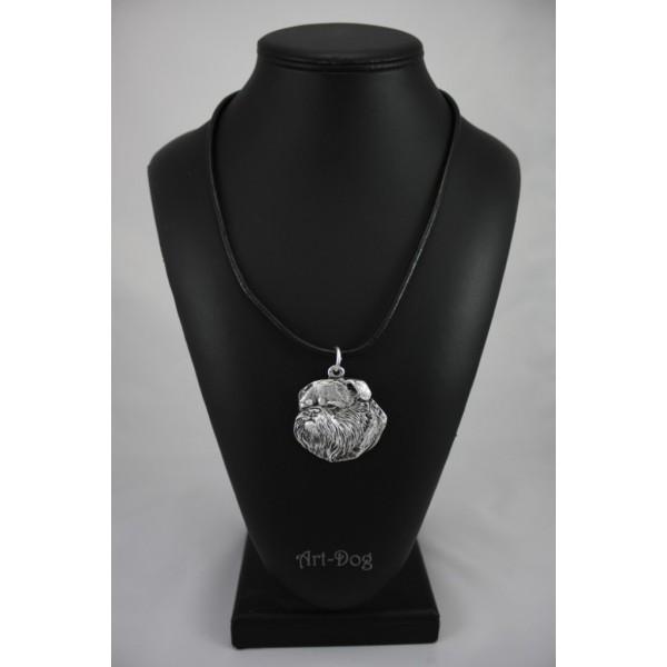 Belgium Griffon - necklace (strap) - 285 - 1136
