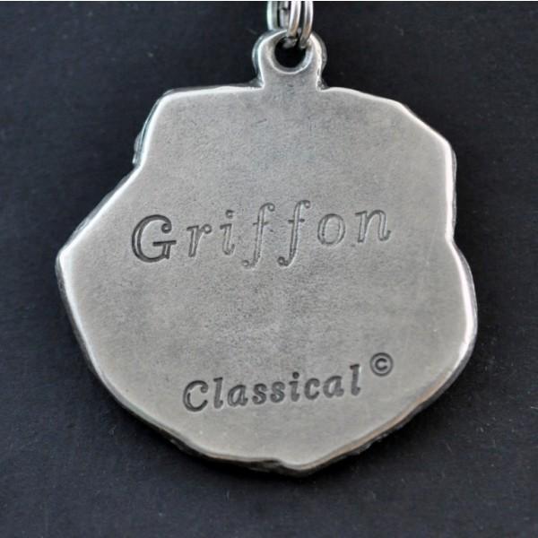 Belgium Griffon - necklace (strap) - 285 - 1140
