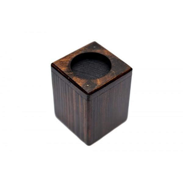 Bichon Frise - candlestick (wood) - 4013 - 37974