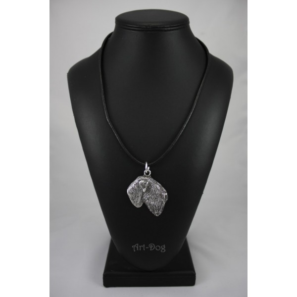 Black Russian Terrier - necklace (strap) - 412 - 1472