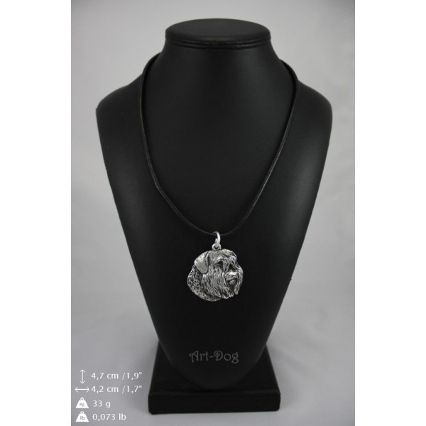 Bouvier des Flandres - necklace (strap) - 188 - 8970