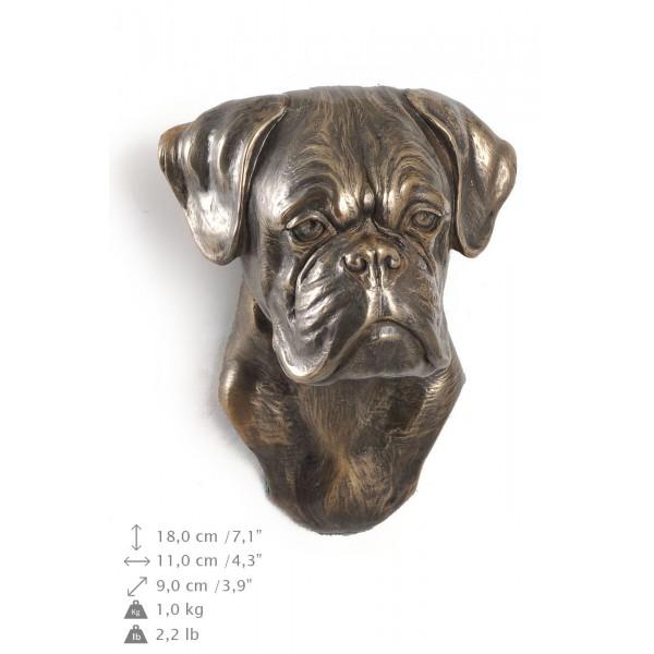Boxer - figurine (bronze) - 376 - 9874