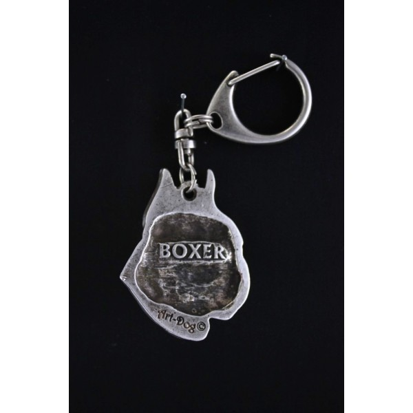 Boxer - keyring (silver plate) - 89 - 496
