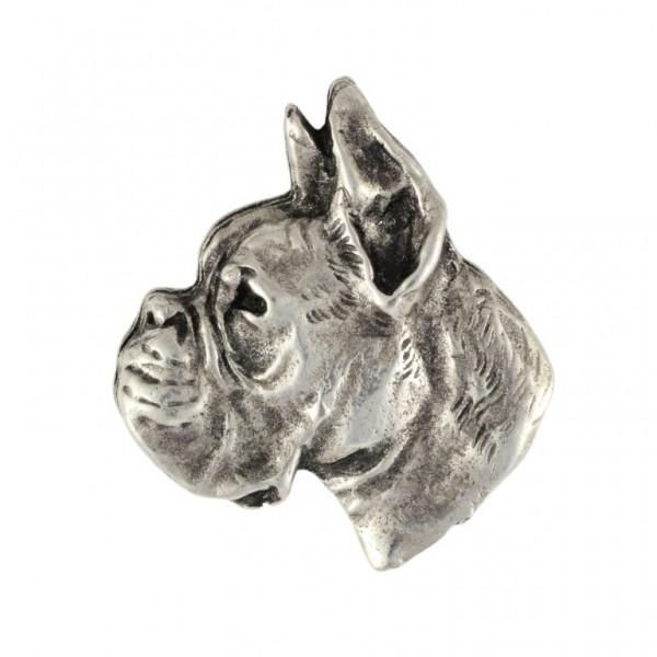 Boxer - pin (silver plate) - 449 - 25888