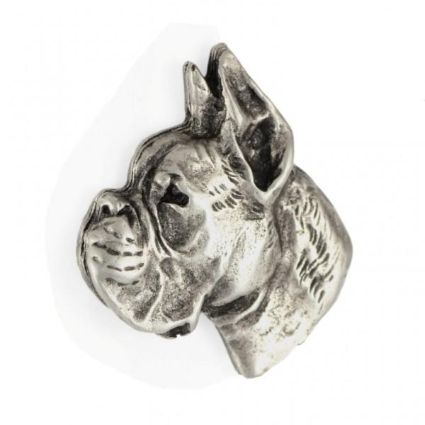 Boxer - pin (silver plate) - 449 - 25889