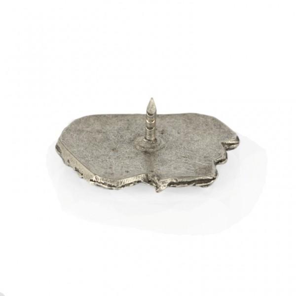 Briard - pin (silver plate) - 469 - 25986