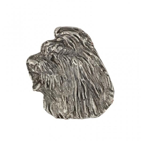 Briard - pin (silver plate) - 469 - 25987