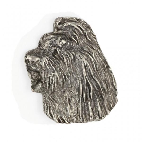Briard - pin (silver plate) - 469 - 25988