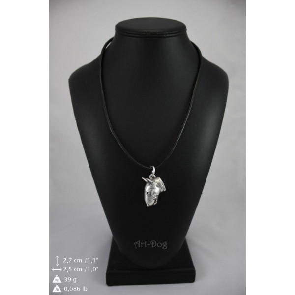Bull Terrier - necklace (strap) - 157 - 8961