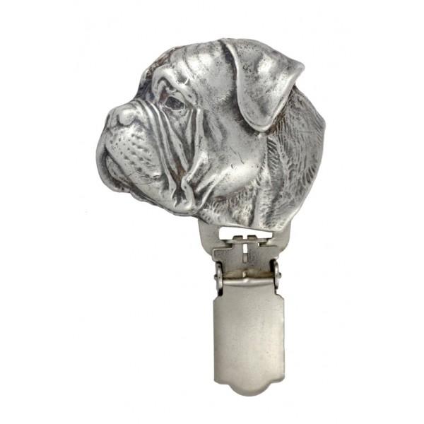Bullmastiff - clip (silver plate) - 13 - 26185