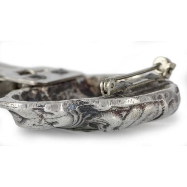 Bullmastiff - clip (silver plate) - 13 - 26189