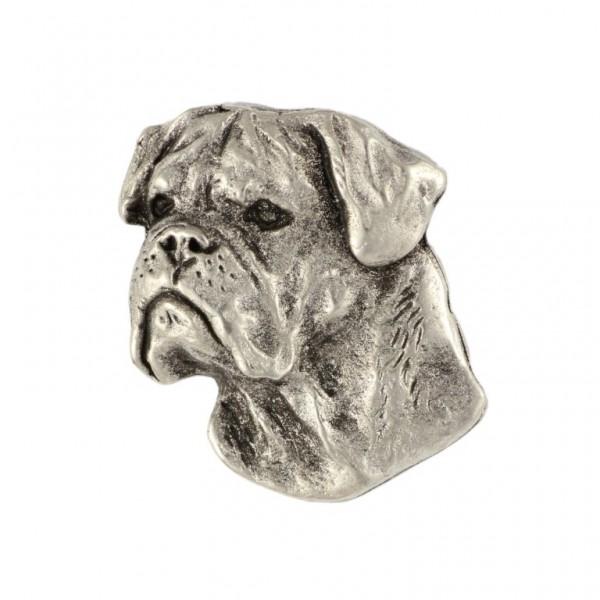Bullmastiff - pin (silver plate) - 452 - 25908