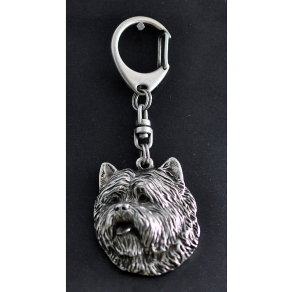 Cairn Terrier - keyring (silver plate) - 75 - 430