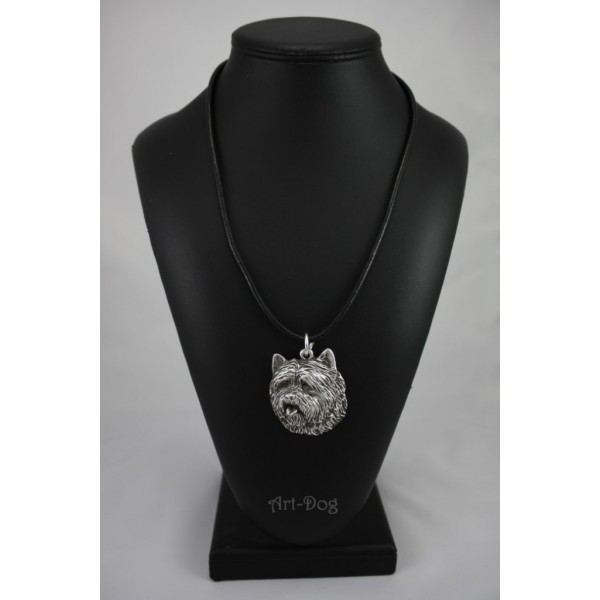 Cairn Terrier - necklace (strap) - 390 - 1403