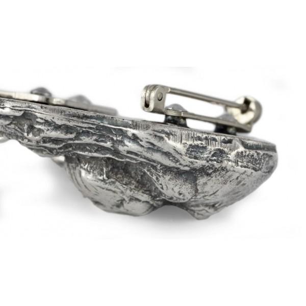 Cavalier King Charles Spaniel - clip (silver plate) - 262 - 26285