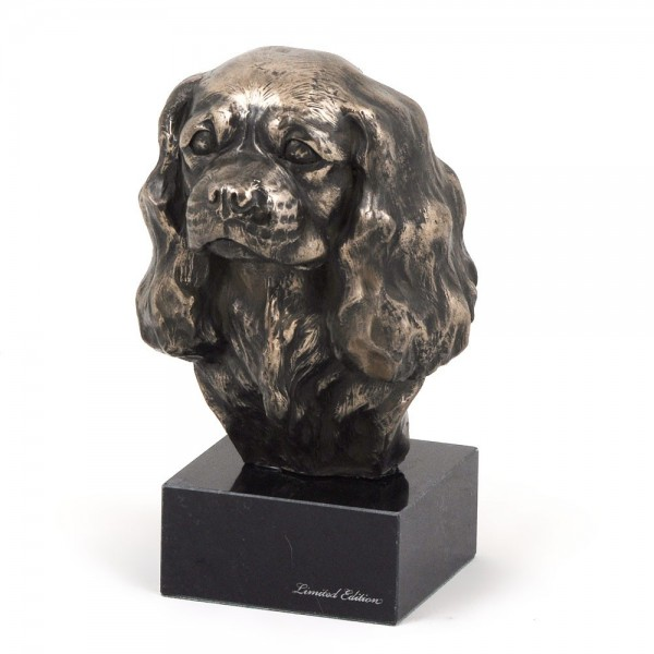 Cavalier King Charles Spaniel - figurine (bronze) - 196 - 7365