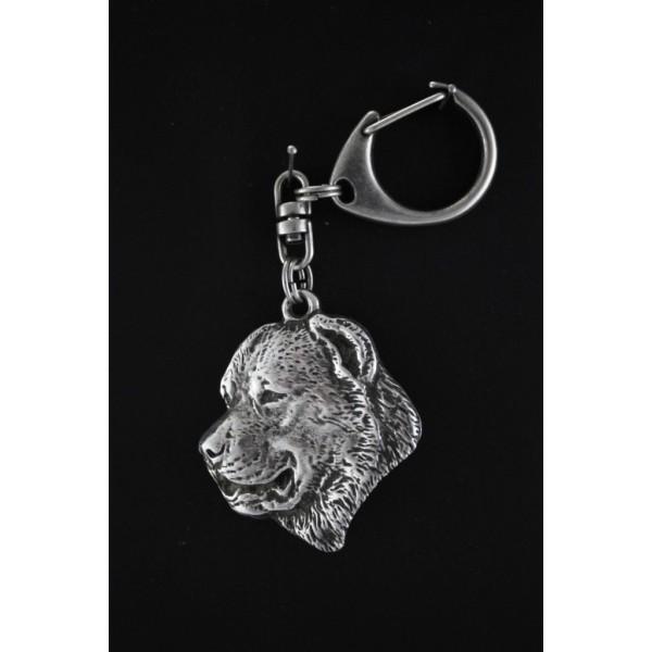 Central Asian Shepherd Dog - keyring (silver plate) - 97 - 532