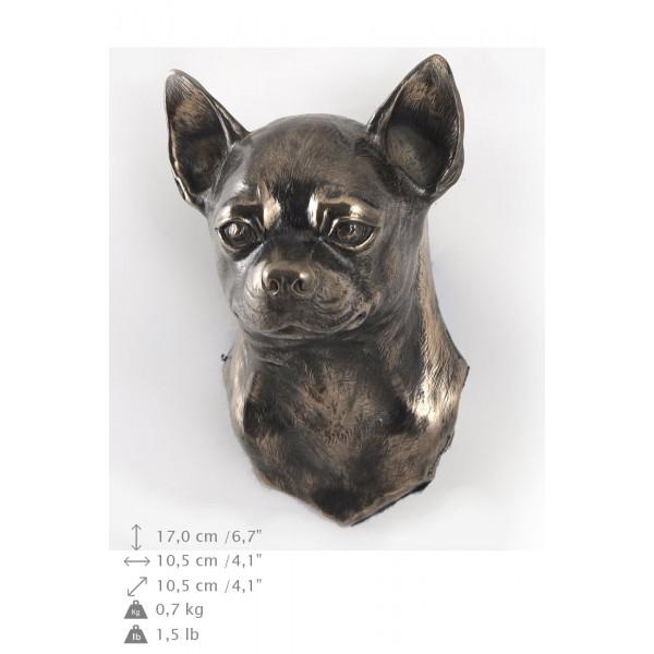 Chihuahua Smooth Coat  - figurine (bronze) - 4688 - 41867