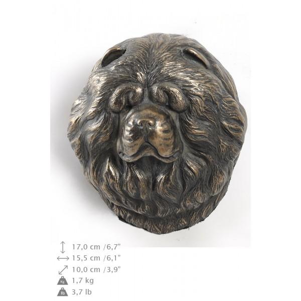 Chow Chow - figurine (bronze) - 416 - 9881