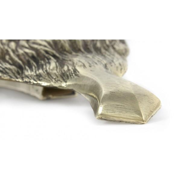 Chow Chow - knocker (brass) - 328 - 7281