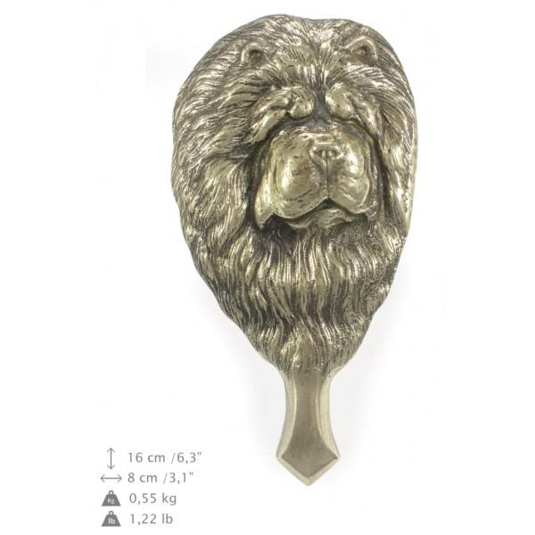 Chow Chow - knocker (brass) - 328 - 7287