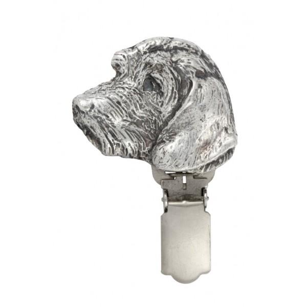 Dachshund - clip (silver plate) - 15 - 26201