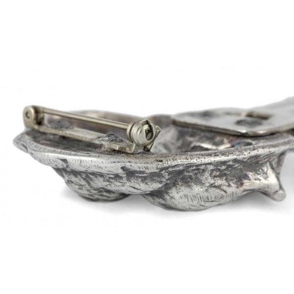 Dachshund - clip (silver plate) - 15 - 26204