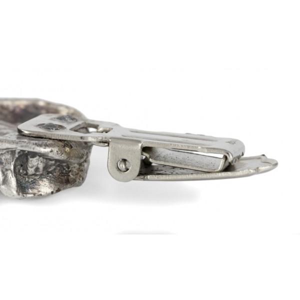 Dachshund - clip (silver plate) - 15 - 26206