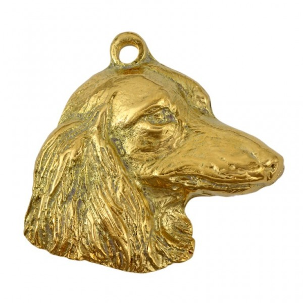 Dachshund - keyring (gold plating) - 834 - 25168