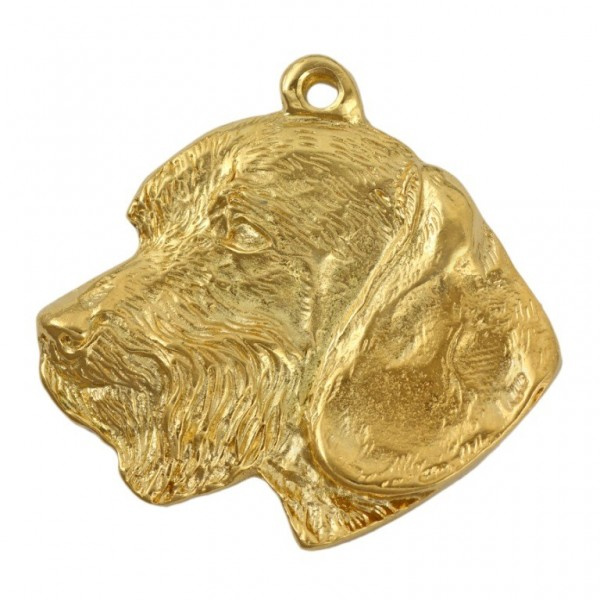 Dachshund - keyring (gold plating) - 844 - 25196