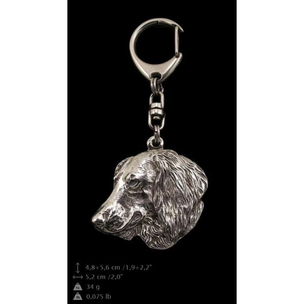 Dachshund - keyring (silver plate) - 112 - 9386