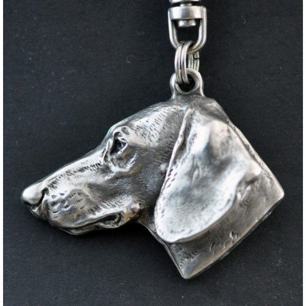 Dachshund - keyring (silver plate) - 44 - 270