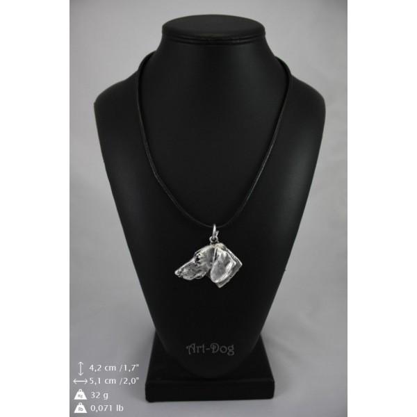 Dachshund - necklace (strap) - 244 - 8988