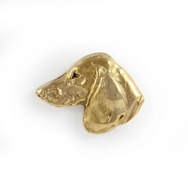 Dachshund - pin (gold plating) - 1054 - 7745