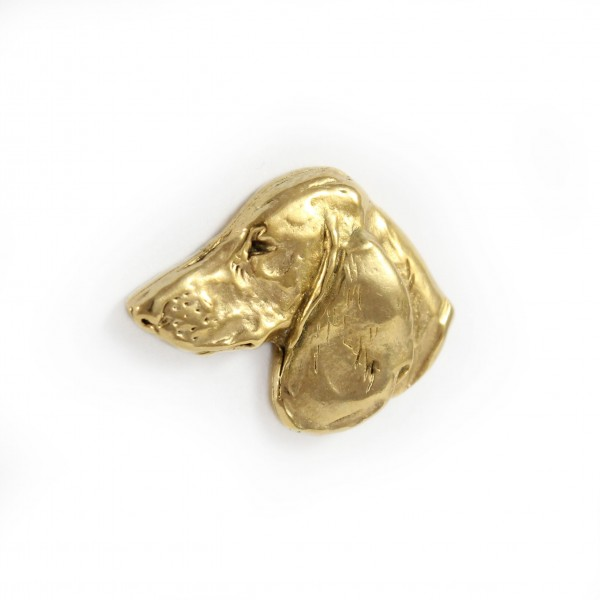 Dachshund - pin (gold plating) - 1054 - 7746