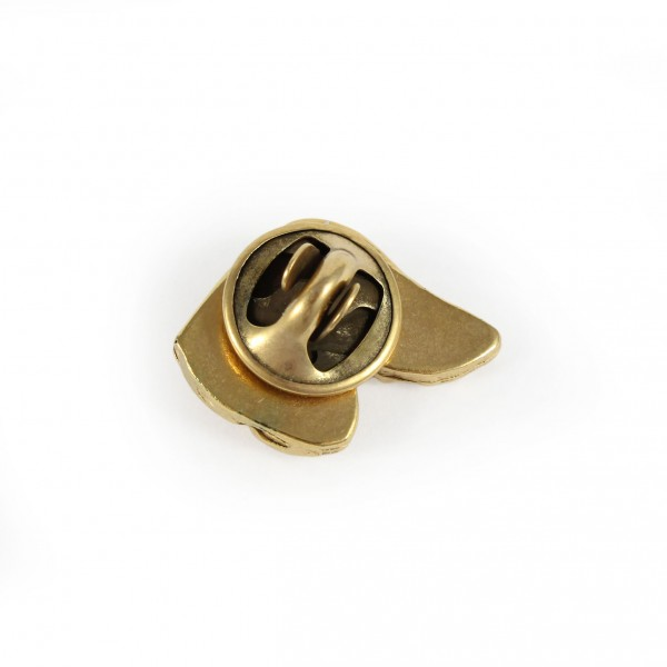 Dachshund - pin (gold plating) - 1054 - 7748