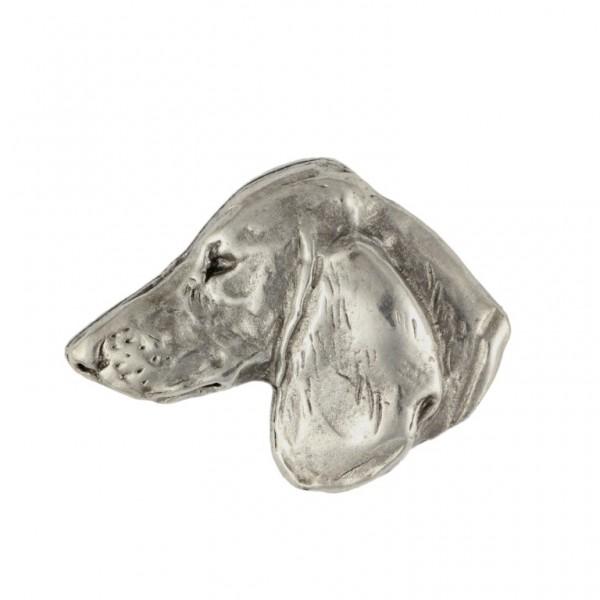 Dachshund - pin (silver plate) - 448 - 25884